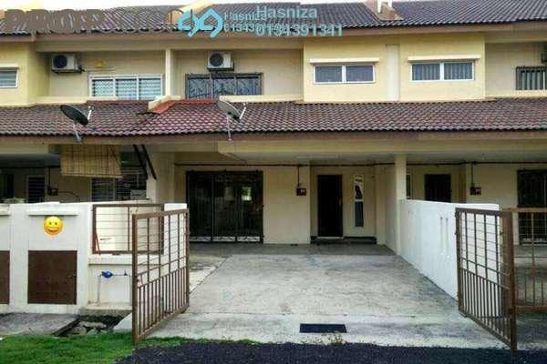 For Sale Terrace at Bandar Puncak Alam, Kuala Selangor Freehold Semi Furnished 4R/3B 410k