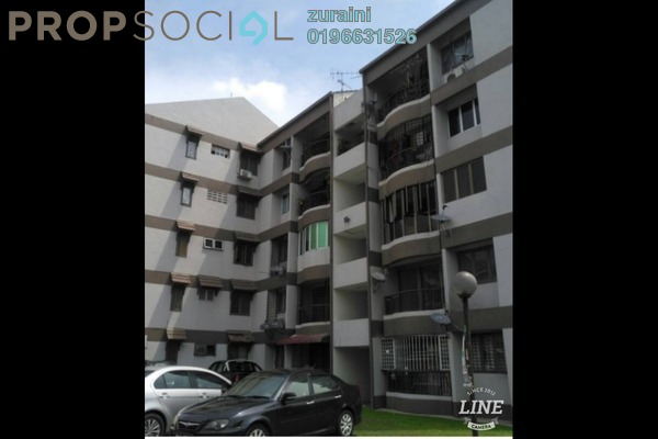 For Sale Apartment at Kinrara Court, Bandar Kinrara Freehold Unfurnished 3R/2B 210k