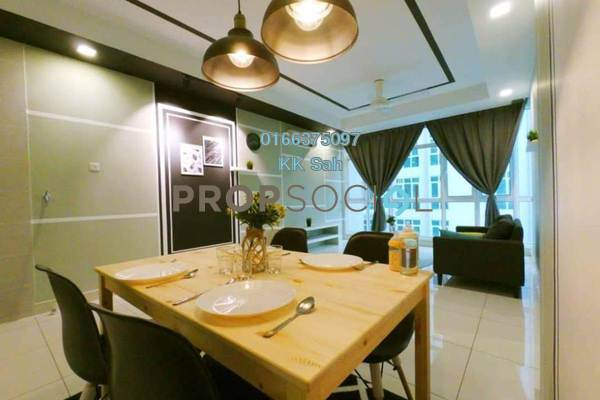 For Rent Serviced Residence at Central SOHO @ Central Residence, Sungai Besi Freehold Fully Furnished 2R/2B 2.2k