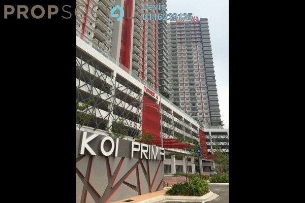 For Rent Condominium at Koi Prima, Puchong Freehold Semi Furnished 3R/2B 1.1k