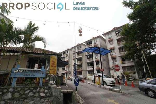 For Rent Apartment at Pandan Terrace Apartment, Pandan Perdana Freehold Fully Furnished 3R/2B 1.2k