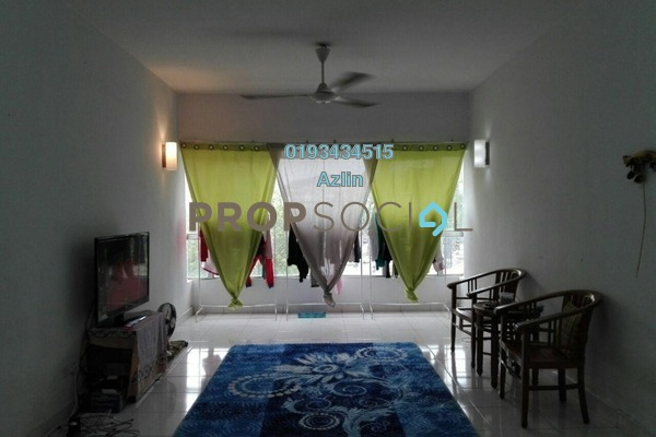 For Sale Apartment at Alpha Villa, Wangsa Maju Freehold Semi Furnished 3R/2B 420k