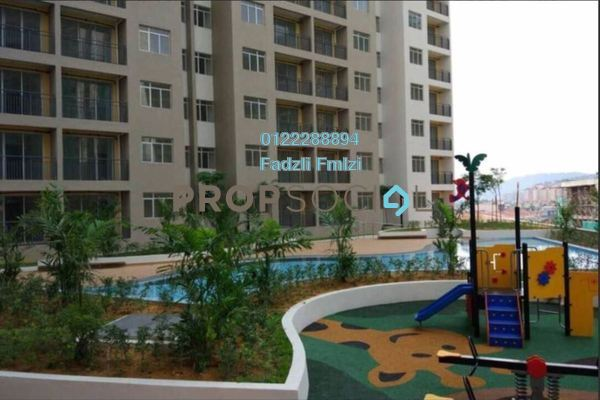 For Rent Condominium at Residensi Pandanmas, Pandan Indah Freehold Semi Furnished 3R/2B 1.25k