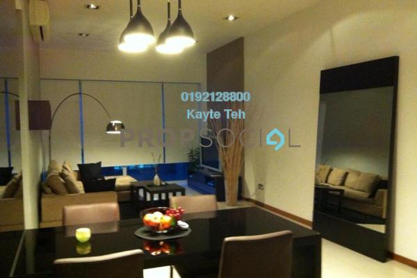For Rent Condominium at Suasana Sentral Loft, KL Sentral Freehold Fully Furnished 2R/2B 4.6k