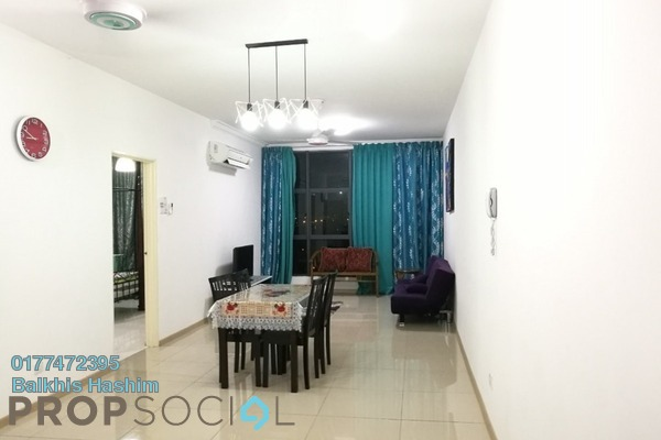 For Sale Serviced Residence at Vista Alam, Shah Alam Freehold Semi Furnished 2R/2B 450k