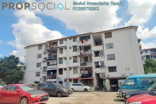 For Sale Apartment at Section 1, Wangsa Maju Freehold Unfurnished 2R/1B 195k