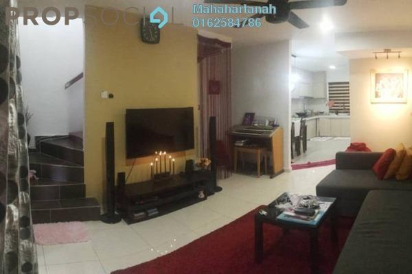 For Sale Terrace at Taman Kantan Permai, Kajang Freehold Semi Furnished 3R/2B 385k