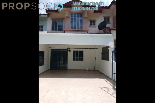 For Sale Terrace at Taman Seri Mewah, Kajang Freehold Semi Furnished 4R/3B 450k