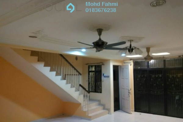 For Rent Terrace at Ampang Saujana, Ampang Leasehold Semi Furnished 4R/2B 1.7k