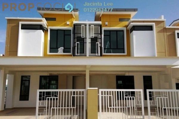 For Sale Terrace at Maranta, Setia Alam Freehold Semi Furnished 4R/4B 537k