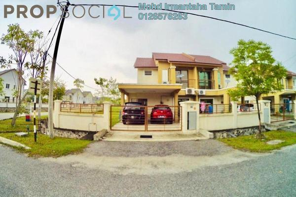 For Sale Semi-Detached at Bandar Puncak Alam, Kuala Selangor Freehold Semi Furnished 4R/3B 580k