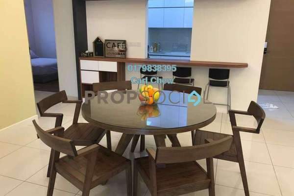 For Rent Condominium at Park Villa, Bandar Bukit Puchong Freehold Fully Furnished 3R/2B 3k