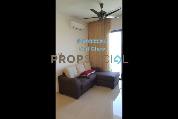 For Rent Serviced Residence at South View, Bangsar South Freehold Fully Furnished 2R/2B 3k
