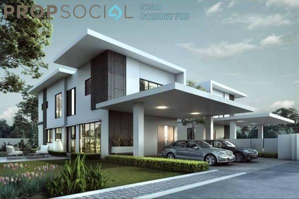 For Sale Semi-Detached at Elymus, Bandar Sri Sendayan Freehold Unfurnished 4R/6B 1.39m