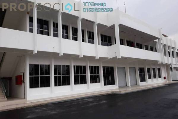 For Rent Factory at Cheras Jaya Industrial Park, Balakong Freehold Unfurnished 1R/4B 60k