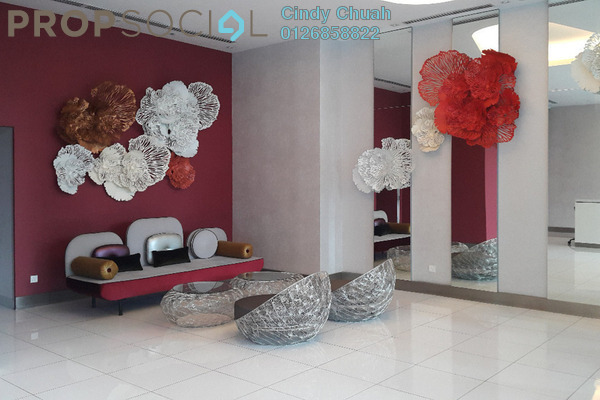 For Rent Condominium at EcoSky, Jalan Ipoh Freehold Fully Furnished 3R/2B 2.8k