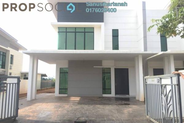 For Sale Superlink at Lunaria, Bandar Sri Sendayan Freehold Unfurnished 4R/4B 750k