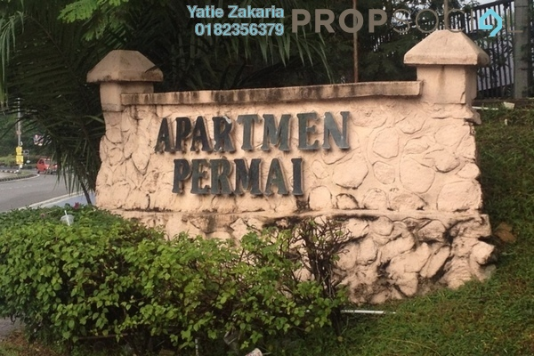 For Rent Apartment at Permai Apartment, Damansara Damai Freehold Unfurnished 3R/2B 850translationmissing:en.pricing.unit