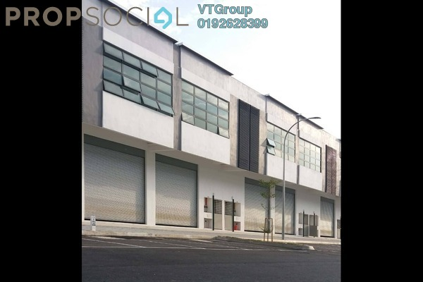 For Rent Factory at Section 27, Shah Alam Freehold Unfurnished 1R/4B 4.4k