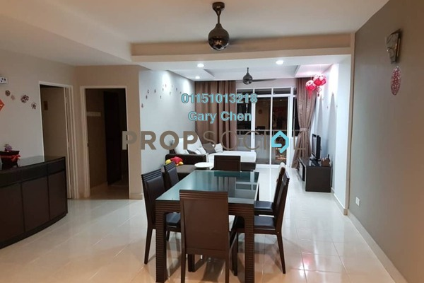 For Rent Condominium at D'Piazza Condominium, Bayan Baru Freehold Fully Furnished 3R/2B 1.8k