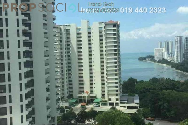 For Rent Condominium at The Straits Regency, Tanjung Bungah Freehold Fully Furnished 4R/3B 2.6k