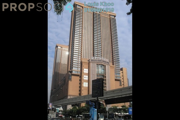 For Sale Condominium at Berjaya Times Square, Bukit Bintang Freehold Fully Furnished 2R/2B 1.05m