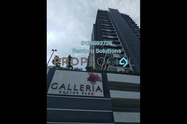 For Rent Condominium at Galleria, Equine Park Freehold Semi Furnished 1R/1B 1.15k