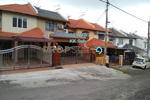 For Sale Link at Taman Sri Bahagia, Cheras South Freehold Semi Furnished 4R/3B 538k