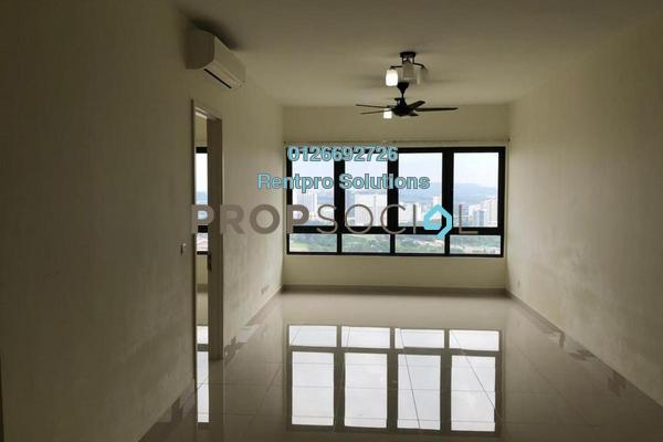 For Rent Condominium at Pandora Serviced Residences @ Tropicana Metropark, Subang Jaya Freehold Semi Furnished 1R/1B 1.2k