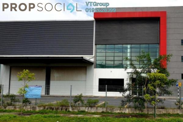 For Rent Factory at Taman Mas Sepang, Puchong Freehold Unfurnished 1R/4B 37k