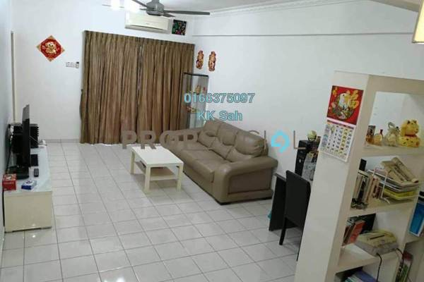 For Sale Apartment at Taman Damai Impian 2, Bandar Damai Perdana Freehold Fully Furnished 3R/2B 338k