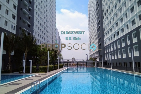 For Rent Apartment at Eco Majestic, Semenyih Freehold Semi Furnished 3R/2B 650translationmissing:en.pricing.unit