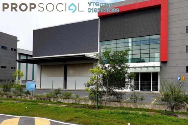 For Rent Factory at Taman Mas Sepang, Puchong Freehold Unfurnished 1R/4B 42k