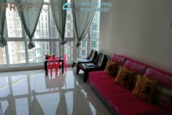 For Rent Serviced Residence at Central Residence, Sungai Besi Freehold Semi Furnished 2R/2B 2k