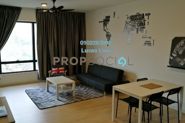 For Sale Serviced Residence at You One, UEP Subang Jaya Freehold Fully Furnished 1R/1B 440k