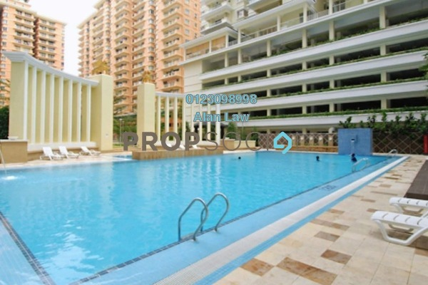 For Rent Condominium at Platinum Hill PV8, Setapak Freehold Semi Furnished 3R/2B 1.6k