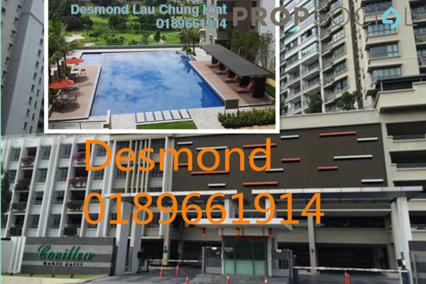 For Rent Condominium at Covillea, Bukit Jalil Freehold Fully Furnished 3R/2B 2k