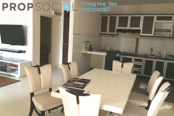 For Sale Condominium at Villa Park, Seri Kembangan Freehold Fully Furnished 3R/2B 400k