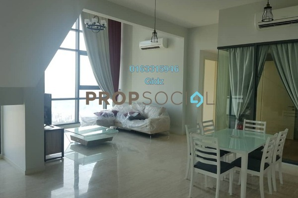 For Rent Serviced Residence at Vogue Suites One @ KL Eco City, Mid Valley City Freehold Fully Furnished 2R/2B 9k