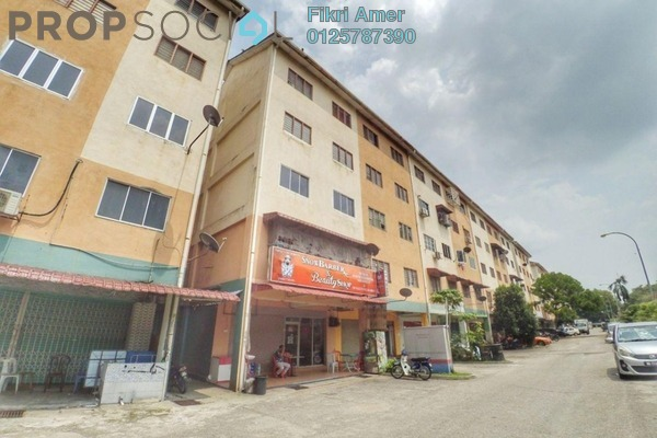 For Sale Apartment at Mawar Jaya Apartment, Bandar Putra Permai Leasehold Unfurnished 3R/1B 115k
