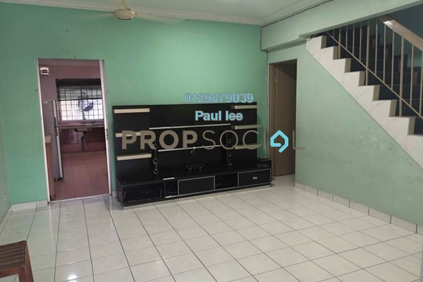 For Sale Terrace at PU12, Bandar Puchong Utama Freehold Semi Furnished 4R/2B 450k