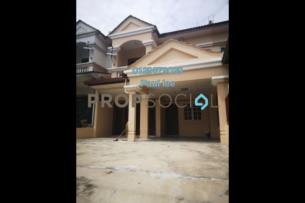 For Sale Terrace at BP3, Bandar Bukit Puchong Freehold Semi Furnished 4R/3B 600k
