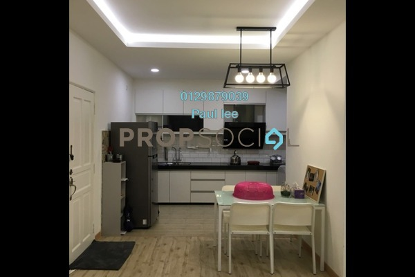 For Sale Apartment at Sri Kesidang, Bandar Puchong Jaya Freehold Semi Furnished 3R/2B 365k