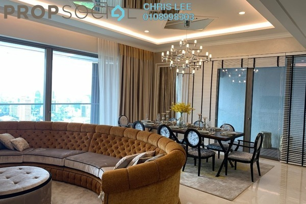 For Sale Condominium at The Sentral Residences, KL Sentral Freehold Semi Furnished 4R/4B 5.1m