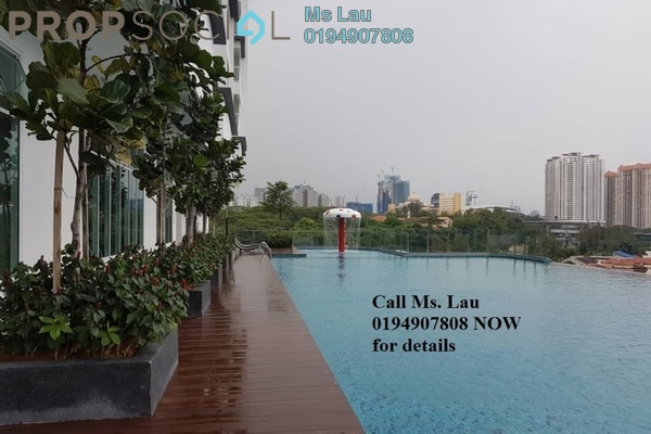 For Rent Condominium at Court 28 @ KL City, Sentul Freehold Semi Furnished 2R/2B 1.6k