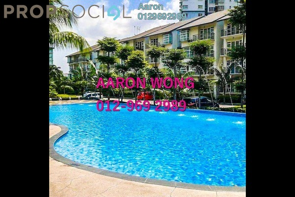 For Sale Condominium at Desa Impiana, Puchong Freehold Semi Furnished 3R/2B 400k