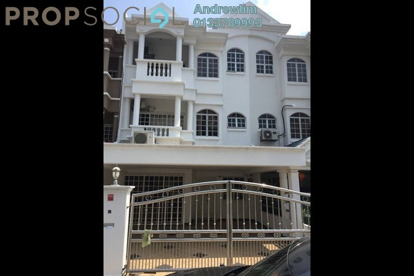 For Rent Terrace at Bayan Hill Homes, Bandar Puchong Jaya Freehold Semi Furnished 5R/4B 2.2k