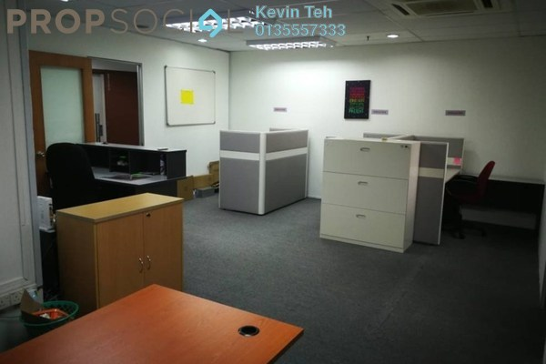 For Rent Office at Plaza Mont Kiara, Mont Kiara Freehold Fully Furnished 0R/0B 3.8k