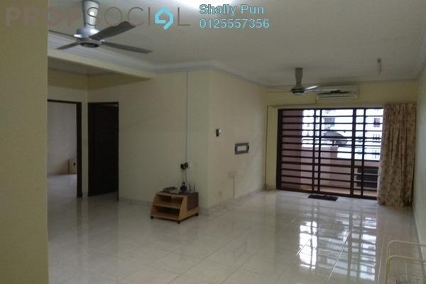 For Rent Apartment at Villamas Apartment, Bandar Puchong Jaya Freehold Semi Furnished 3R/2B 1.1k