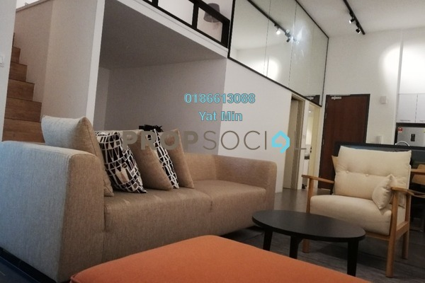 For Sale Condominium at The Establishment, Brickfields Freehold Fully Furnished 2R/2B 850k